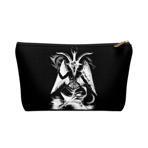Baphomet Accessory Pouch W TBottom