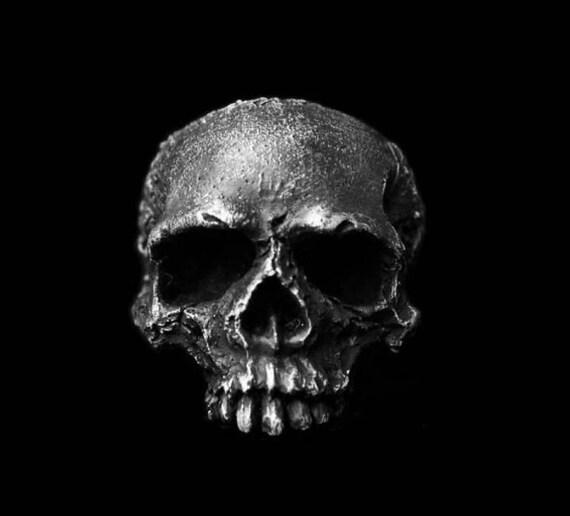 Rustic Skull Ring