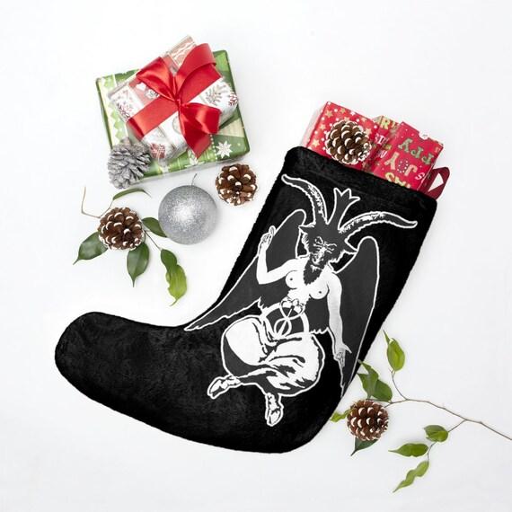 Baphomet II Christmas Stockings