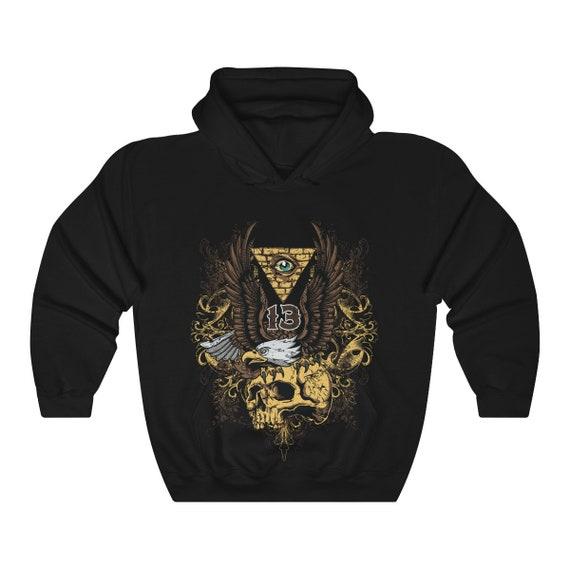 Thirteen - Heavy Blend Hooded Sweatshirt