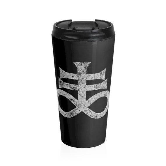Leviathan Cross Stainless Steel Travel Mug