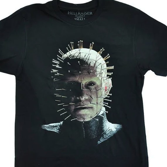 Hellraiser - Pinhead - Officially Licensed Horror Tee - Size Large Only
