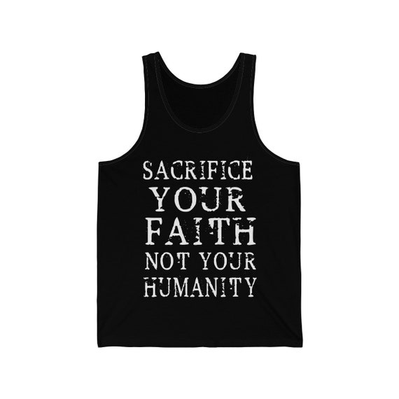 Sacrifice Your Faith Jersey Tank
