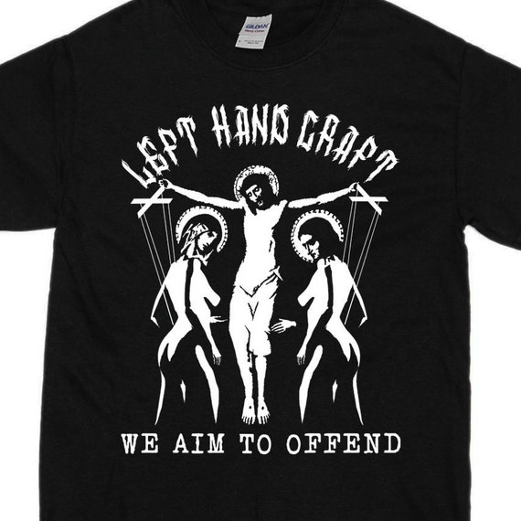 We Aim To Offend - Satanic T Shirt