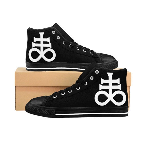 Leviathan Cross Men's HighTop Sneakers - Order One Size Large
