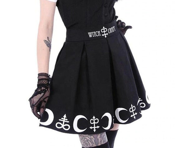 Witchcraft Skirt with Leviathan Cross