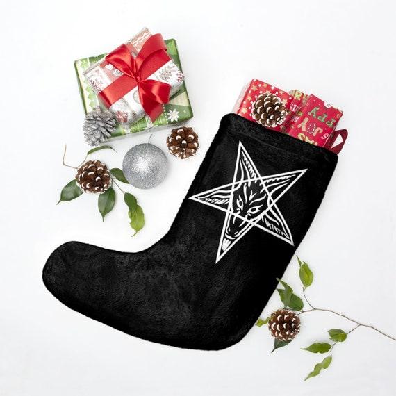 Baphomet Christmas Stockings