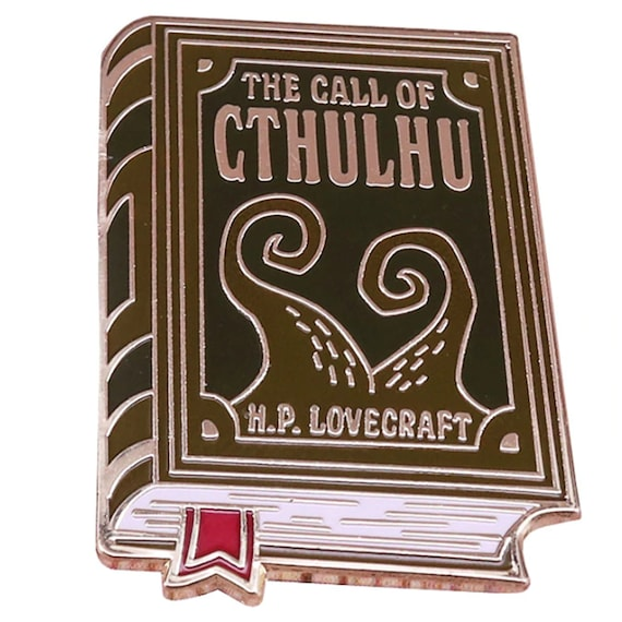 H.P. Lovecraft Cthulhu Pin