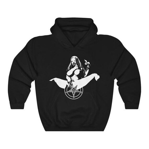 Satanic Nun - hoodie