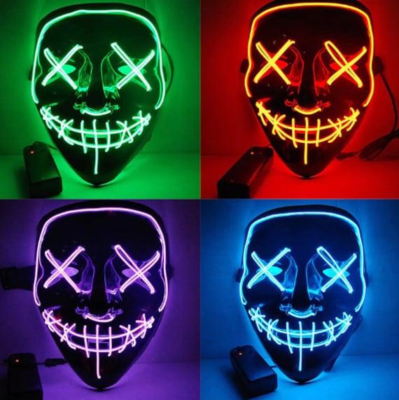 LED Lit Party Mask - FREE SHIPPING