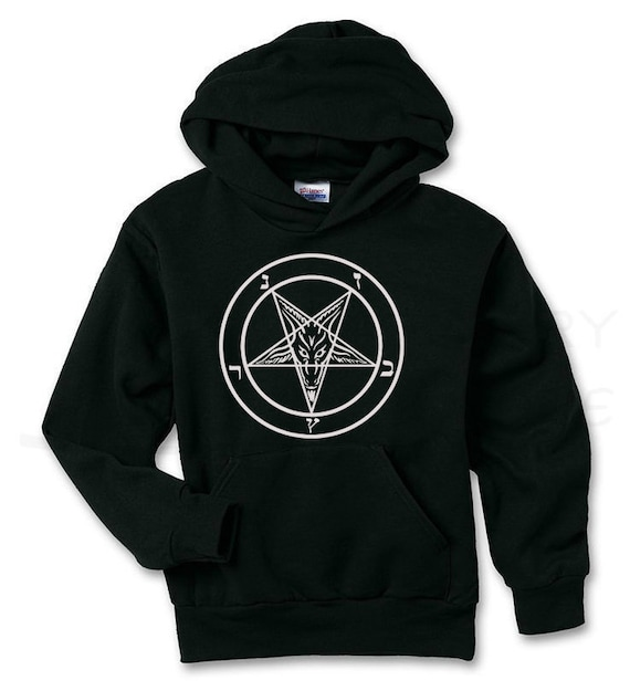 Baphomet Pentagram Satanic Hoodie