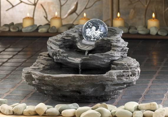 Crystal Ball Rock Fountain