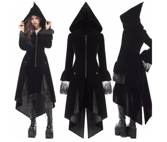 Witch Hooded Dress