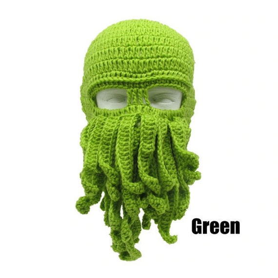 Cthulhu Knit Beanie - Multiple Color Options
