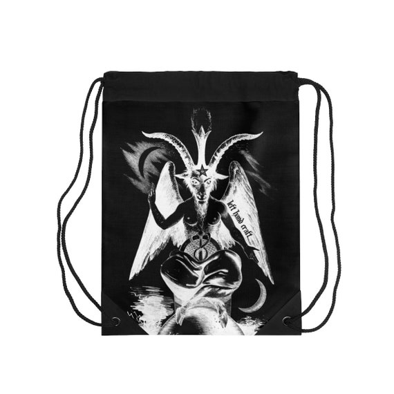 Baphomet Drawstring Bag