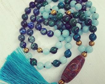 Strength and Stability Mala, Mala, Mala Beads, 108 Beads, Meditation Beads, Yoga Jewelry