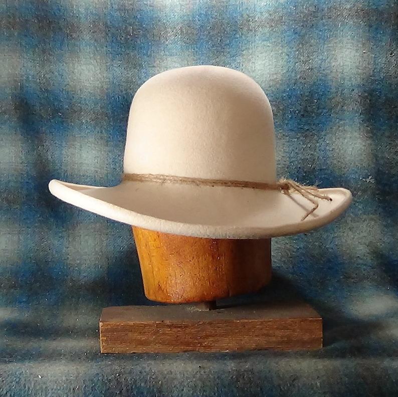 Old West Ranchero custom fit beaver felt cowboy hat  6f93e5df468