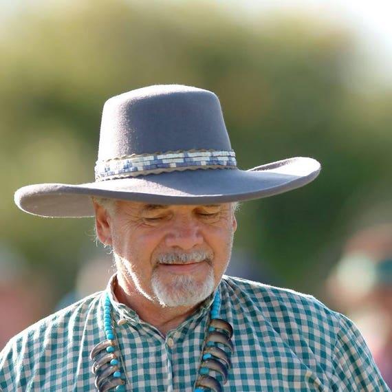 Mens Cowboy Hat Western Genuine Leather Hats Texas Hat   Etsy   570x570