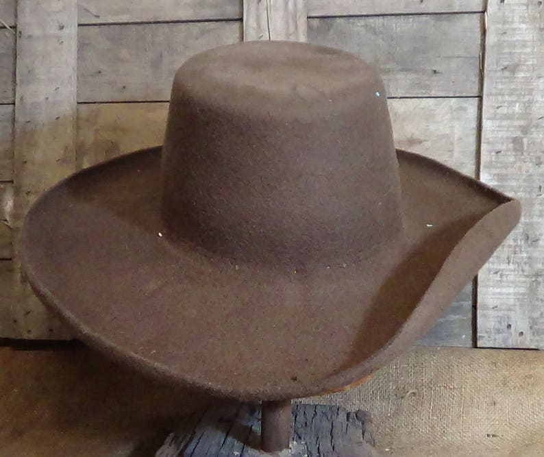 3d3ea786 Plainsman historic Southwestern style beaver felt custom | Etsy