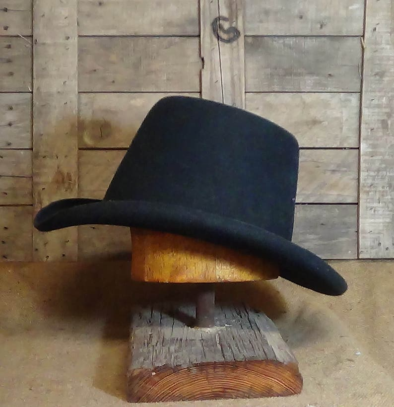 025dd28054023 French Beau Old West style custom fitted dress hat
