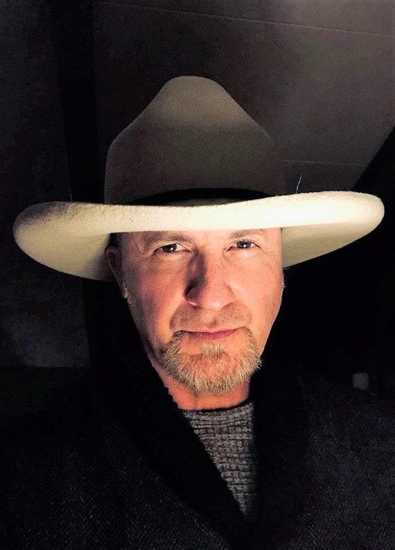 fur felt cowboy hat custom fit Old West Drifter