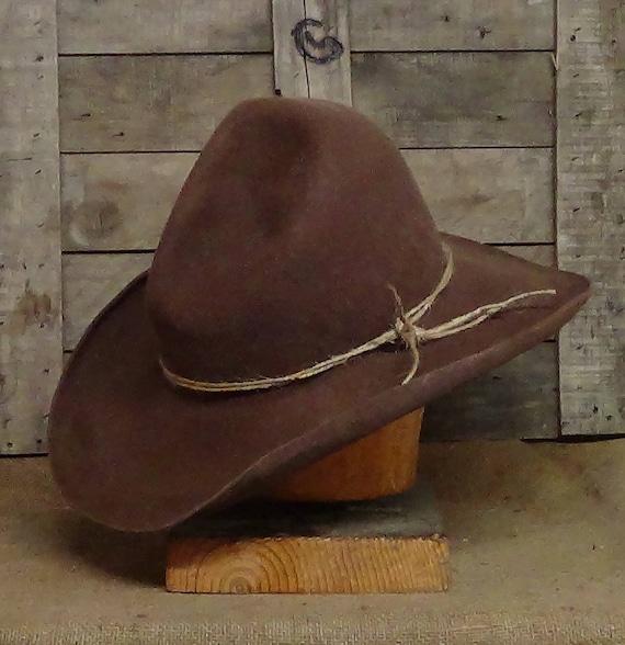 e995438d8ac The Garrett Cowboy Hat classic western movie character hat