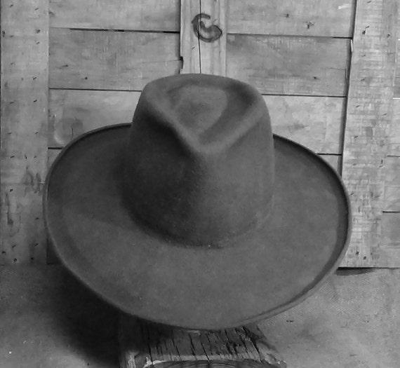 Fedorado Cowboy Hat wide brim Fedora hat dress hat  8ae02009387