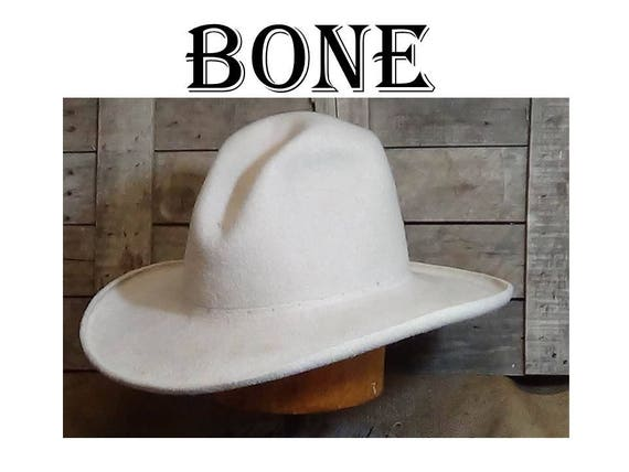 Nowood River Buckaroo Cowboy Hat custom Western hat felt  9540ba0cbad