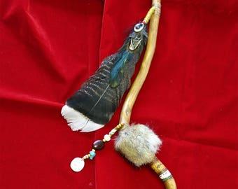Cherokee-style willow talking stick