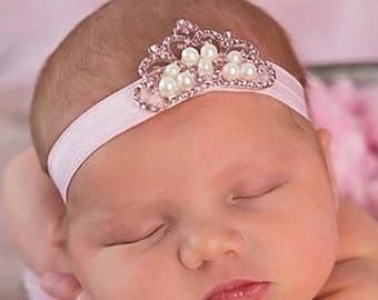 Newborn Crown, Crown Headband, Baby Crown, Baby Crown Headband, Newborn Crown Headband, Newborn Baby Crown Headband, Baby Princess Headband