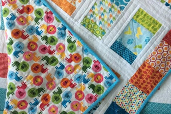 Flannel Quilt Unique Baby Shower Gift Christmas Gifts For Etsy