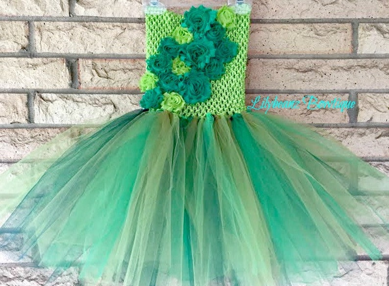 Awesome Green Fairy Costume Girls Birthday Gift For Kids Baby Girl | Etsy