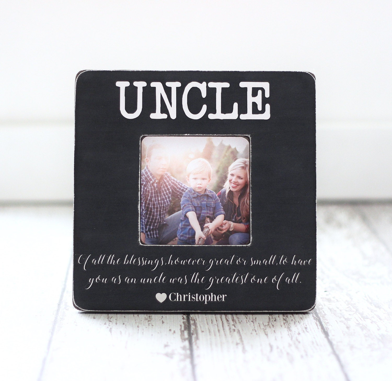 Weihnachtsgeschenk für Onkel von Neffe Nichte Zitat | Etsy