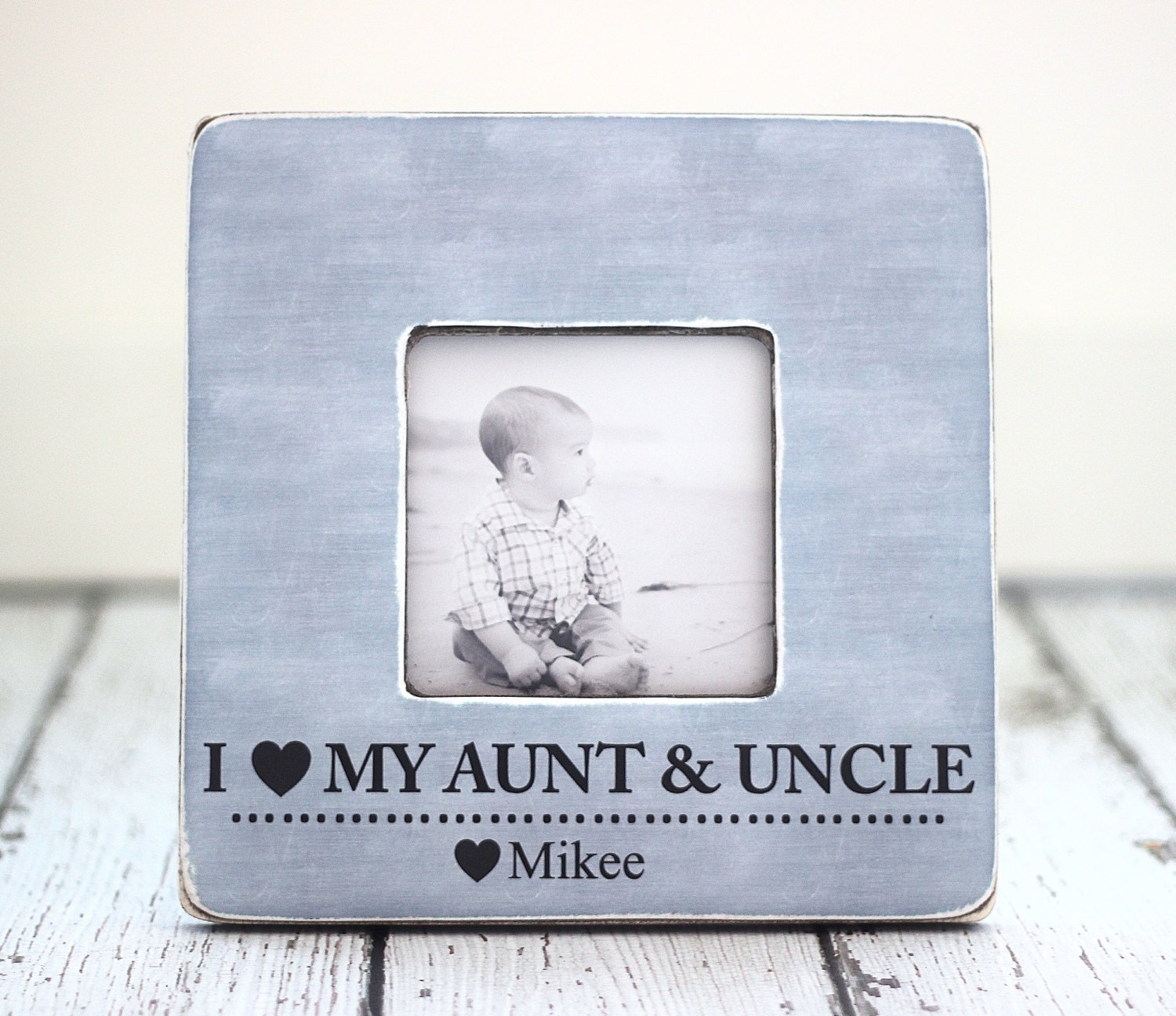 Aunt Uncle Gift Personalized Picture Frame Auntie Uncle From Etsy