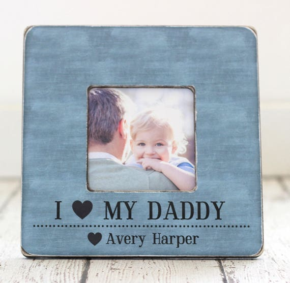 Fathers Day Dad Frame Gift Dad Father Personalized Etsy