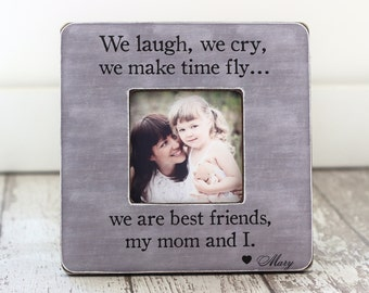 Mom Mother GIFT from Daughter 'We Are Best Friends' Personalized Picture Frame GIFT
