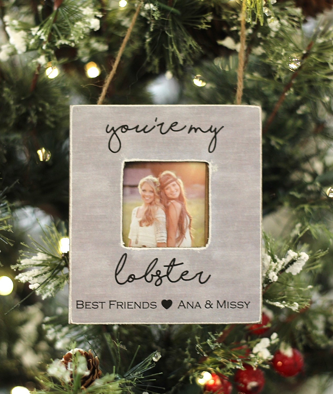 Beste Geschenk für Freund Weihnachten Ornament personalisierte | Etsy