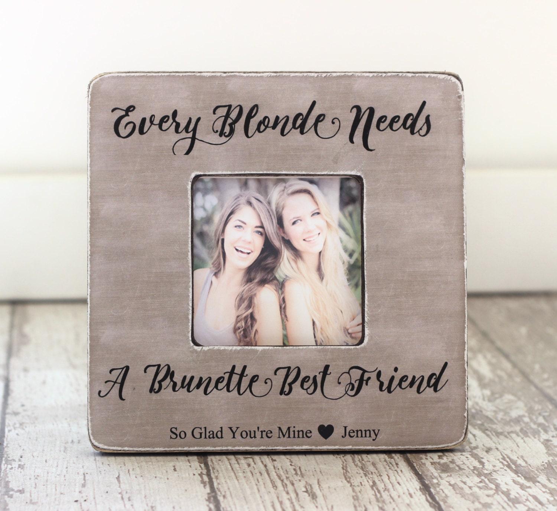 Jede Blondine braucht eine Brünette bester Freund | Etsy