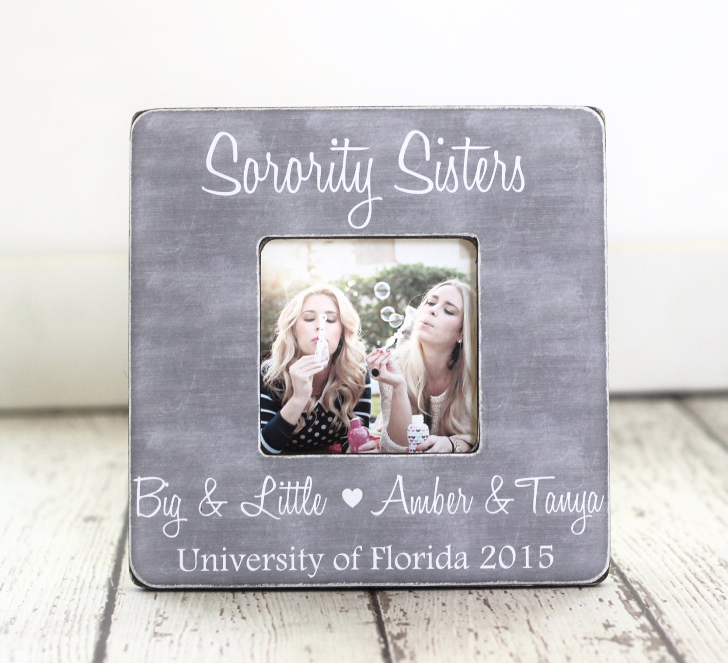 Sorority Big Sister Little Sister GIFT Picture Frame | Etsy