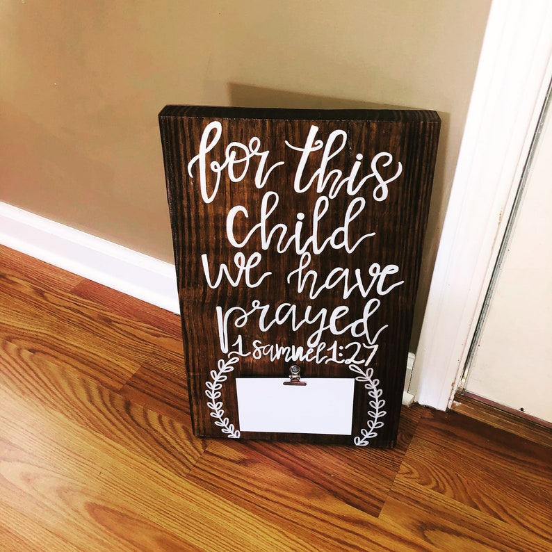 Pregnancy Announcement Sign