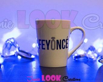 "Engagement ""Feyonce"" Fiance Tea/Coffee/Beverage Mug"