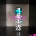 Water Tracker/Personalized 32 oz Fruit Infuser Water Bottle