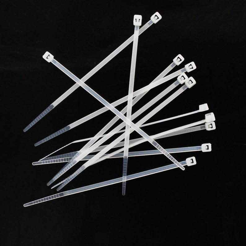 4 Nylon Cable Zip Ties  Bulk Pack image 0