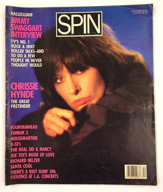 Musician Mojo and Spin magazines Mystery Achievement fanzine Vintage PRETENDERS CHRISSIE HYNDE Zine Lot