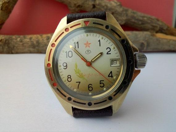 reloj ruso vostok