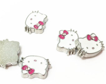 119c7d4e1 Hello Kitty Floating Charms, Kitty Floating Charms, Memory Locket