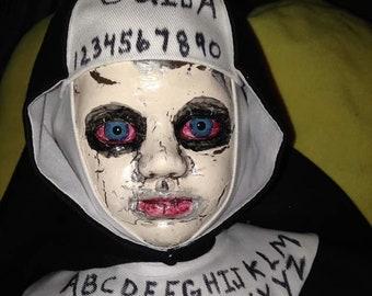 18 INCH Creepy Nun Doll