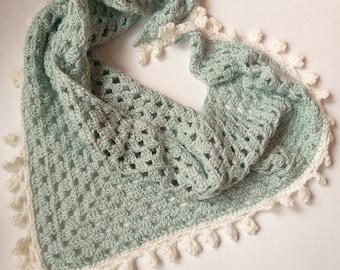 Wife Gift Anniversary Gift Mothers Scarf Fushia Crochet