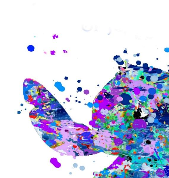 Disney inspiriert Lilo and stitch poster drucken Wandkunst Geschenk Waren