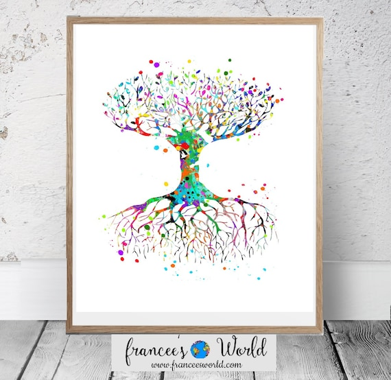 photograph regarding Tree of Life Printable referred to as Tree Of Daily life Artwork Printable,Tree of Daily life wall artwork,wall decor